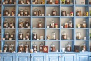 いろいろな種類の漢方薬